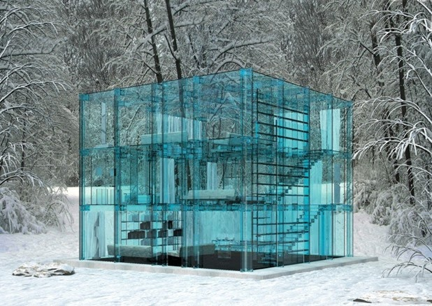 Santabrogiomilano Architects' Glass House Concepts: glass house by santambrogio architects 1[3].jpg